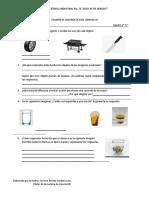 examen diagnostico 2020-2021 Quimica