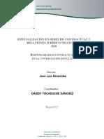 Esp. Contractual y relaciones 2020.02.27. Responsabilidad contractual (guía)