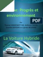 diaporama voiture hybride