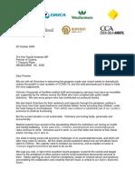 Open Letter to Daniel Andrews