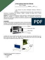 TICS Ficha & Exercicios