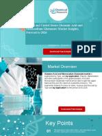Global and United States Glutamic Acid and Monosodium Glutamate Market Insights, Forecast to 2026