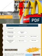 Mcdonald's vs Vikram Bakshi