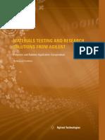 Agilent Materials Polymers Compendium