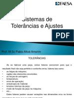 10 - Sistemas de Tolerâncias e Ajustes