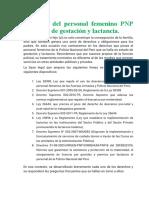 BENEFICIOS DE LAS MUJERES PRE Y POS NATAL