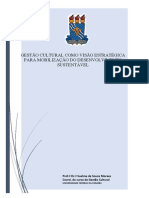 GESTÃO CULTURAL COMO VISÃO ESTRATÉGICA PARA MOBILIZAÇÃO DO DESENVOLVIMENTO SUSTENTÁVEL