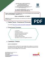 Guia Nº 4 y 5 Español-la Dramática- 3º j.m