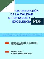 MODELOS DE GESTION ORIENTADOS A LA EXCELENCIA