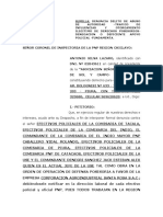 ABUSO DE AUTORIDAD SILVA INSPECTORIA REGIONAL CHICLAYO