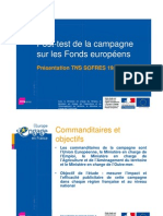 Fonds Europeens Impact 2010 TNS
