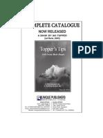 catalogue of unique publications