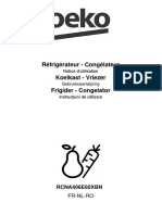 Manual combina Beko