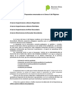 23-19 Propuestas Enmarcadas en El Anexo 6 Del Regimen Academico
