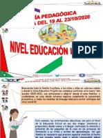 Guia Pedagogica Educacion Inicial Semana Del 19 Al 23-10-2020