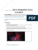 level 2 - top down games research