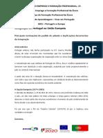 Ficha Informativa A Integracao de Portugal na UE