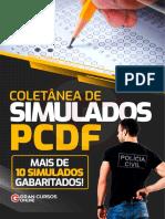Coletânea Simulados PCDF - Escrivão