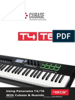 Setup & User Guide for Panorama T4-T6 with Cubase-Nuendo 1.2 - MacOS.en.es