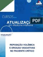 Reposição Volêmica Drogas vasoativas IMAC 2020