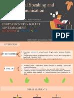 Comparison of E-wallet Advertisement