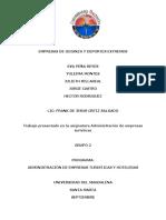 EMPRESAS DE GUIANZA Y DEPORTES EXTREMOS