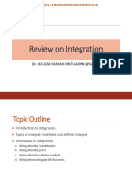 2. Review on Integration