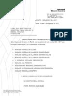 HORARIOS PARA DOCENTES    2016-2017