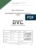 DVC-CAL-LPE091-PR-IE-28 MEDICION DE PUESTA A TIERRA_V.01