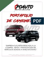 Portafolio de Camionetas ExpoAuto