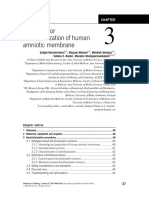 Chapter 3 - Protocols for decellularization of human amniotic membrane