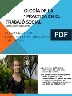 Epistemología de la teoría y practica en el