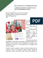 TERAPIA COGNITIVO CONDUCTUAL EN NIñOS CON SINDROME DE DOWN