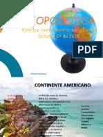 SESIÓN 11 - OCT. 07 - 2020 . AMÉRICA