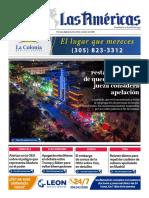 DIARIO LAS AMÉRICAS Portada digital del martes 20 de octubre de 2020