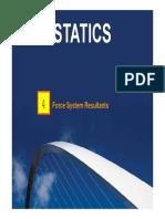 StaticsC04_Force System Resultants