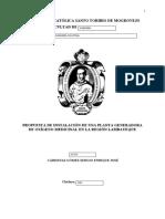 Pregrado -Carátula Proyecto de Tesis