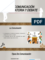 Comunicación Oratoria y Debate