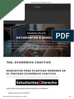 Económico Coactivo – Estudiantes X Derecho!.pdf
