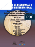 Busso, A._ Actis, E._ Novello, M.R. La geometría de la Política Exterior Argentina (1989-2015)