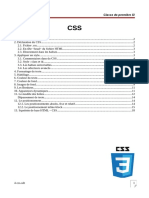 Cours CSS3