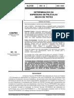 N-2135 - Determinação da EFS