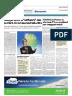 Acens Cloud hosting en El Economista (3-febrero-2011)