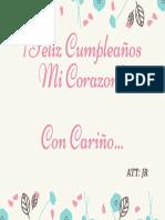 Tarjeta Día de la Madre Rosada Floral.pdf