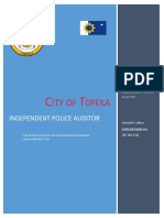 City of Topeka IPA Report