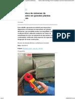 Diagnóstico de sistemas de aterramento em grandes plantas industriais