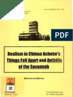 Anthills of the Savanah