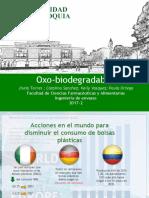 Exposición Oxo-biodegradables