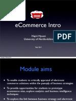 eCommerce Intro