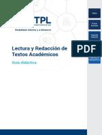 Lectura y Redacción de Textos Académicos